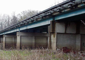 Coated Overpass